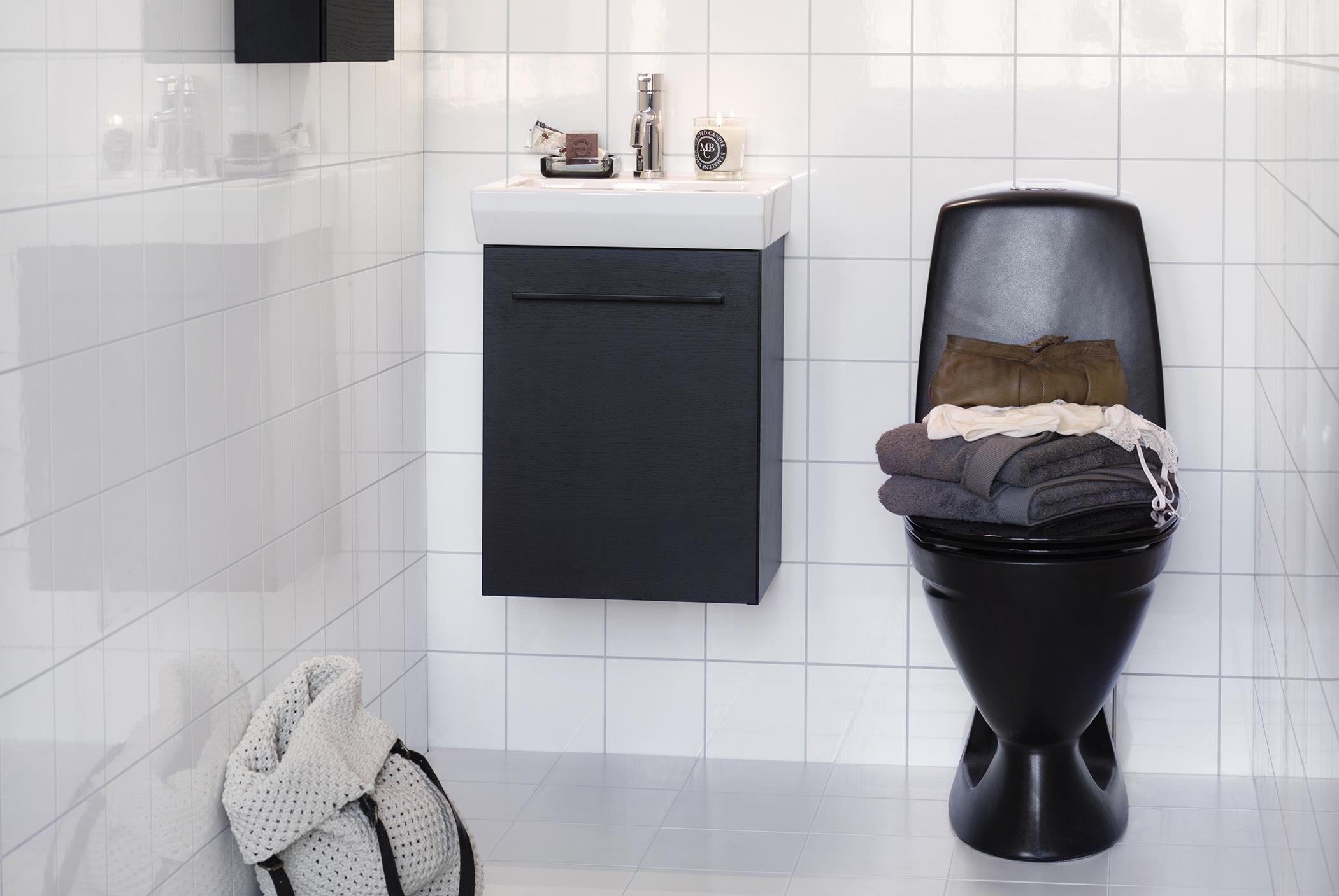 Handfat Toalett : Lysan tvättställ aspen